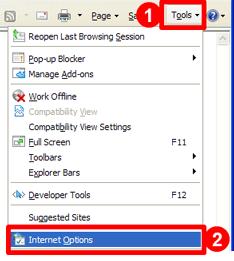 Internet Explorer 6/7/8